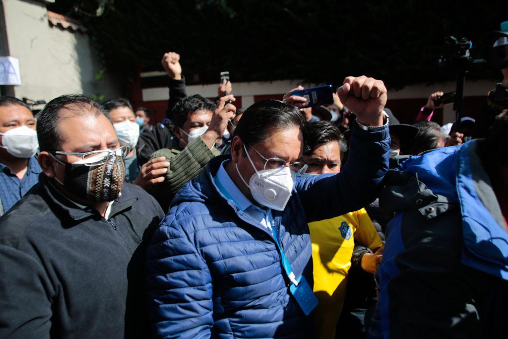 Luis Arce participa en las presidenciales en Bolivia