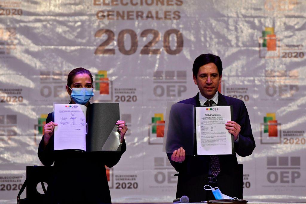 Tribunal Supremo Electoral de Bolivia entrega los resultados oficiales