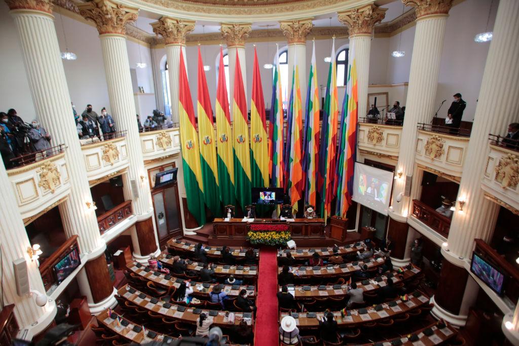 Sala del Congreso de Bolivia