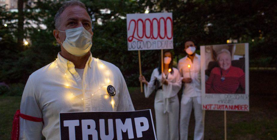 CDC encontró un exceso de 300.000 muertes en EEUU durante la pandemia