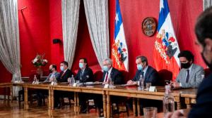 Presidente Piñera encabezó consejo de gabinete tras triunfo del Apruebo en el Plebiscito Nacional