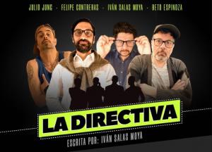 """""""La directiva"""": Felipe Contreras protagoniza obra sobre la lucha de poder en un club de barrio"""