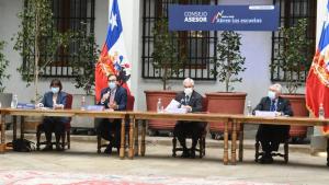 Presidente Piñera encabezó reunión del consejo asesor para que se retomen las clases presenciales