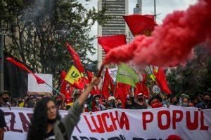 Masivas protestas por el paro nacional convocado en Colombia