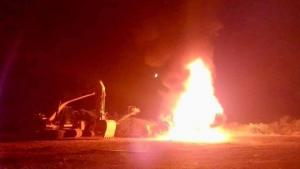 Grupo mapuche se adjudicó atentado incendiario que dejó 12 camiones quemados en La Araucanía