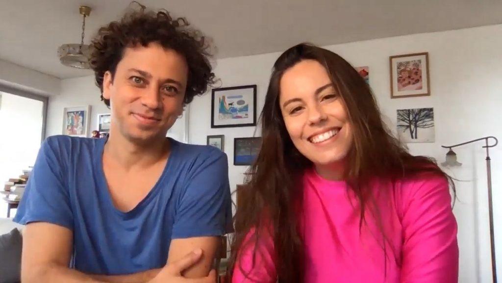 Programa en matrimonio: Antonia Santa María y Álvaro Viguera debutan con espacio sobre actuación en canal 13C