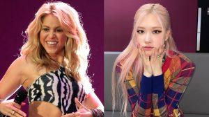 Shakira compartió video de Rosé de Blackpink imitando su voz