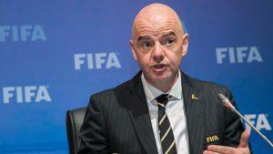 Gianni Infantino, presidente de la FIFA , dio positivo por Covid-19