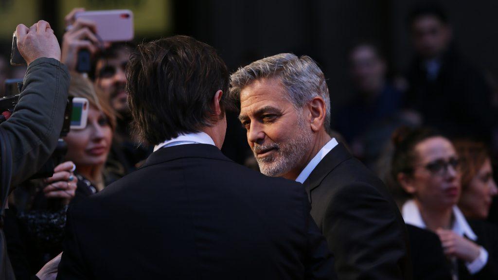 George Clooney luce irreconocible en The Midnight Sky, la nueva película de Netflix