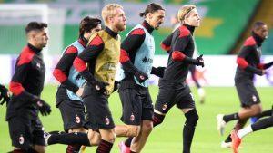 AC Milan informó cinco casos positivos de Covid-19 en el plantel a horas del duelo ante la Roma por la Serie A