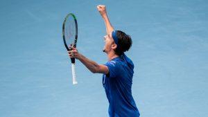 Lorenzo Sonego barrió con Novak Djokovic y da la sorpresa en el ATP 500 de Viena