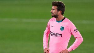 """""""¡Que poca sangre!"""": Las duras palabras de Gerard Piqué contra sus compañeros en la caída del Barcelona ante el Getafe"""