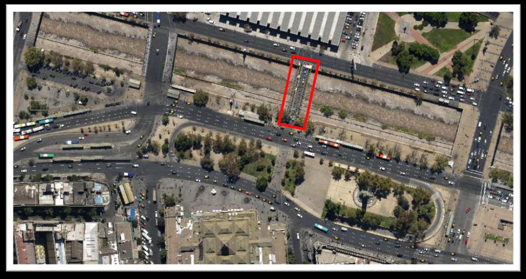 Mapa ubicación puente Los Carros