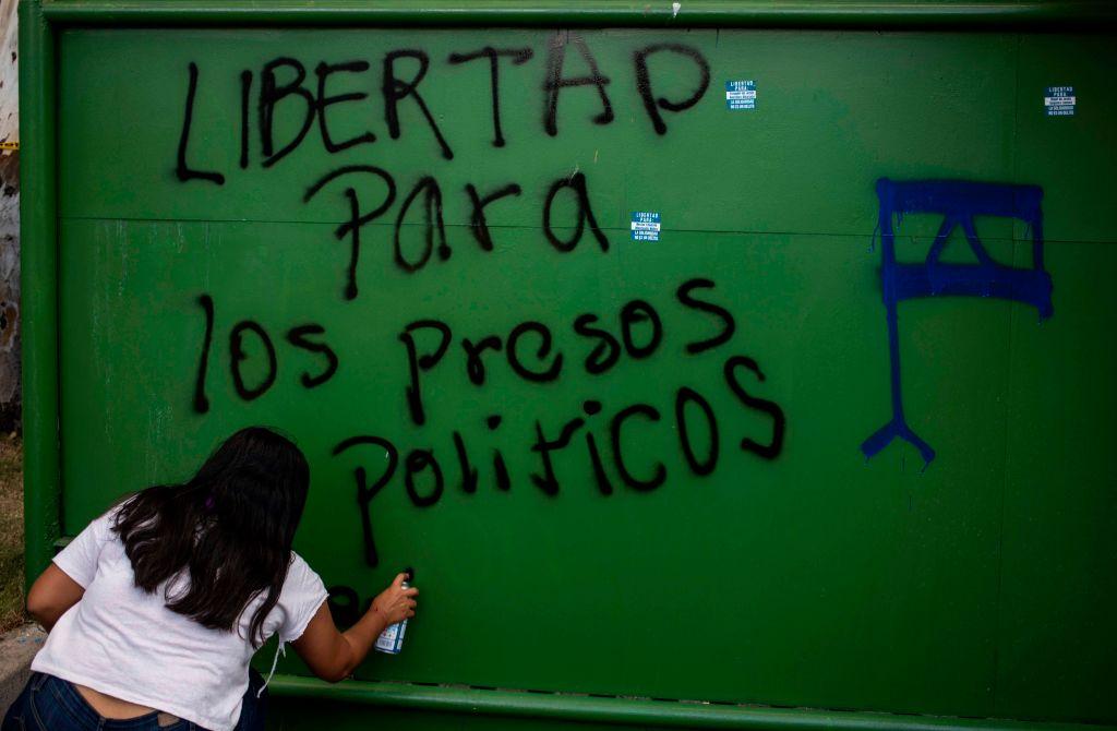 Protestas contra el régimen de Ortega y Murillo