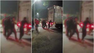 Curicó registró graves incidentes tras el primer aniversario del estallido social