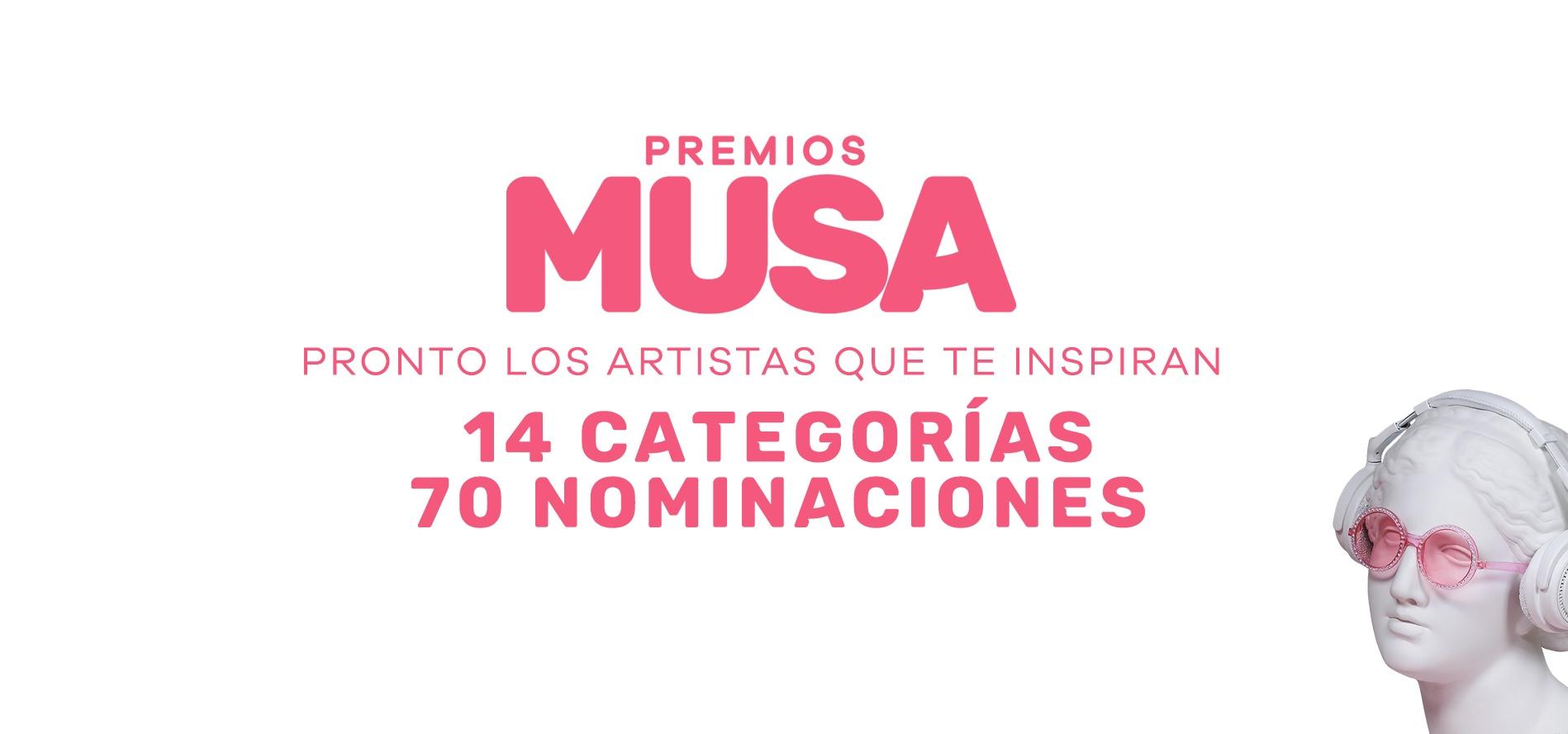 Premios MUSA Categorías