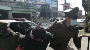 Carabineros de Temuco detuvo nuevamente al Cazuela: ya suma 119 arrestos