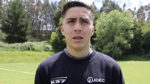 Jaime Carreño fue presentado como nuevo jugador de Universidad de Concepción