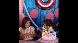 Su madre se refirió a lo sucedido: video de niñas peleando en cumpleaños se volvió viral