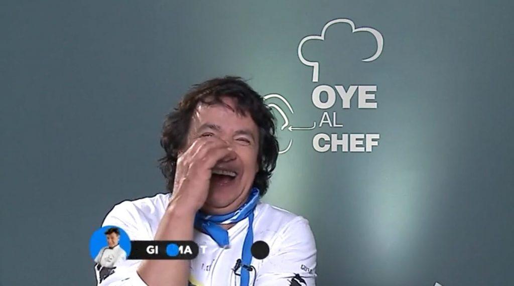 """Se te ve la r..."": Gigi Martin protagonizó chascarro que sacó risas en ""Oye al chef"""