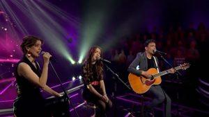 """Millaray Viera, Álvaro López y su hija sorprendieron cantando juntos en """"Yo soy"""""""
