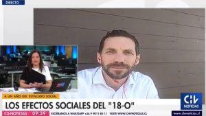 """""""Antes muerto que sencillo"""": Chascarro de entrevistado en CHV saca carcajadas en redes sociales"""