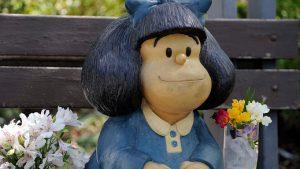 "Fans de Quino ""consolaron"" a Mafalda por la muerte del dibujante"