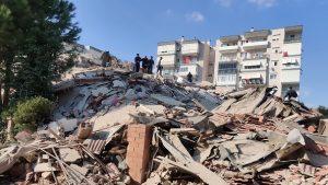 Un terremoto de magnitud 7,0 se registró este viernes en el mar Egeo afectando a Turquía y Grecia