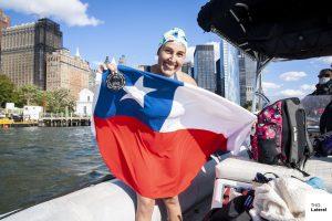 """Bárbara Hernández tras nadar por la isla de Manhattan: """"El objetivo es seguir haciendo historia"""""""