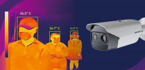"""Cámaras térmicas que controlan aforos y temperatura podrían usarse en el plebiscito: """"Esta tecnología llegó para quedarse"""""""