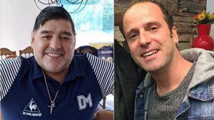 Stefan Kramer saludó a Maradona en su cumpleaños con notable imitación del exfutbolista