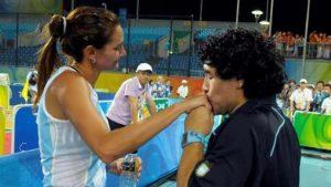 """Luciana Aymar: """"Prefiero quedarme con el Diego que conocí, carismático y simpático"""""""