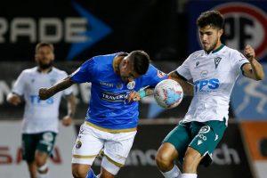Audax Italiano y Santiago Wanderers igualaron en reñido partido en el Bicentenario de La Florida