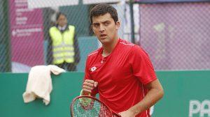 Tomás Barrios obtuvo un gran triunfo en Lima y por primera vez se metió en las semifinales de un Challenger