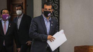 """Delgado por desórdenes en la Alameda: """"Lo que vimos es delincuencia pura y dura, no les va a salir gratis"""""""