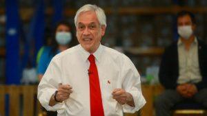 """Presidente Piñera por impuestos en segundo retiro de fondos de las AFP: La idea es que """"los grupos medios y altos hagan alguna contribución"""""""