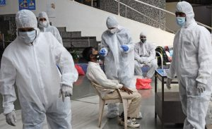 En la India las infecciones del Covid-19 mantienen su tendencia a la baja