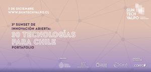 Nuevas tecnologías para Chile: Suntech Valpo, el evento de la innovación que se realizará este jueves