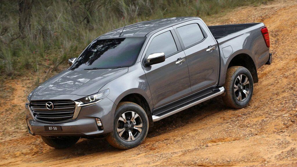 La nueva camioneta BT-50 tendrá disponible cabina chasis