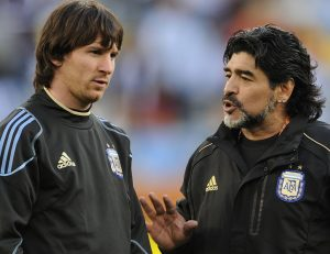 DT campeón de América con Flamengo: Maradona tenía pasión por el fútbol, Cristiano tiene un poquito y Messi no tiene nada