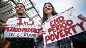 Escocia: Productos sanitarios como toallas higiénicas serán gratis y de libre disposición en instituciones públicas