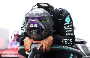 """La emoción de Lewis Hamilton tras ganar un nuevo mundial de F1: """"Niños, sueñen lo imposible"""""""