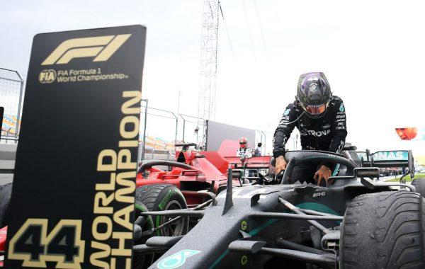 Lewis Hamilton ganó el GP de Turquía y conquistó su séptimo título de Fórmula 1