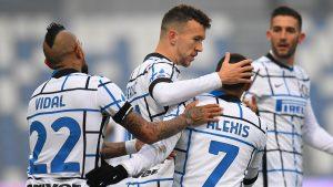 Inter de Milán consiguió importante victoria ante el Sassuolo con gran participación de Sánchez y Vidal