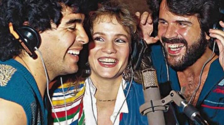 """""""Querida Amiga"""": La canción que unió a Diego Maradona y Pimpinela"""