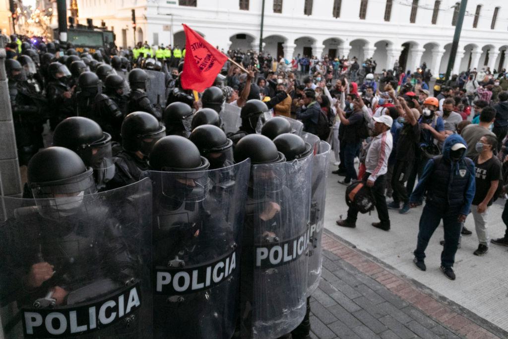 Manifestaciones ciudadanas en Quito