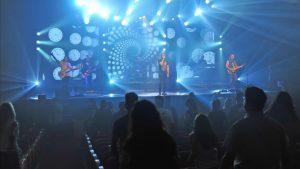 Con Yuri en el público: Aleste protagonizó el primer concierto presencial desde el inicio de la pandemia