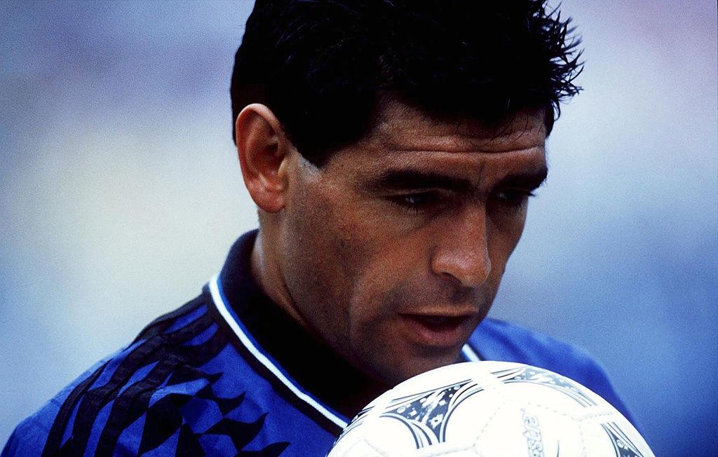 Diego Armando Maradona en el Mundial 1994