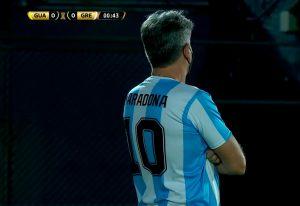 El emotivo homenaje del técnico de Gremio de Porto Alegre a Diego Maradona