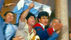 """Borghi y su recuerdo de Maradona: """"Diego era un tipo especial, pero nunca un cabrón"""""""
